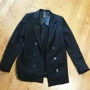Long stretchy blazer